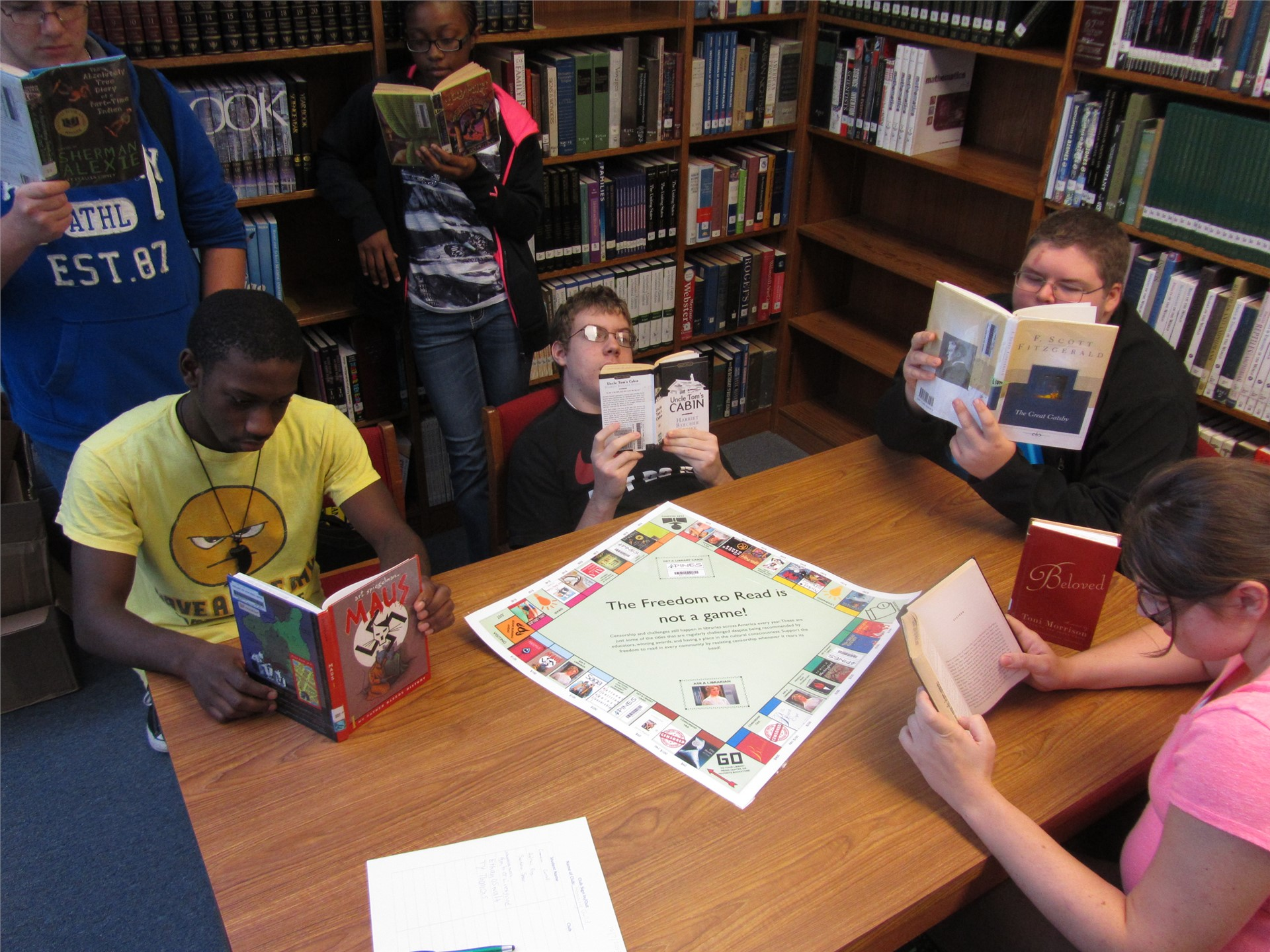 """Reading Guild:  """"The Freedom to Read Is NOT a Game!"""""""