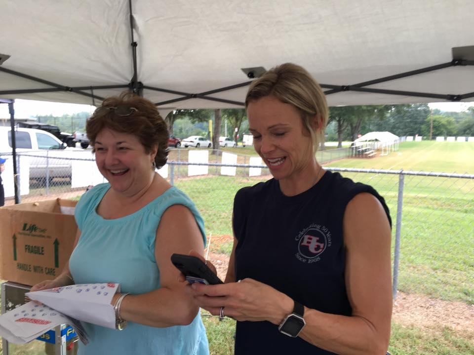 Mrs. Hurston and Mrs. Ford at Rebel Fest 2017