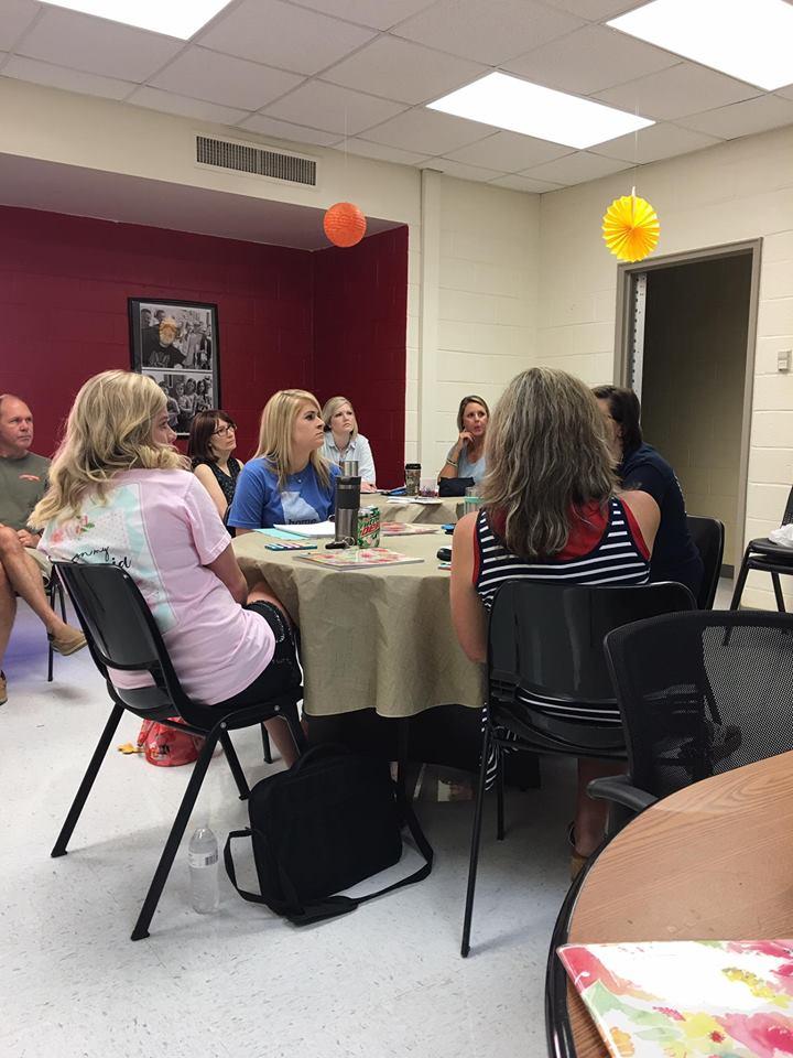 Beginning of the year Leadership Team Meeting 4