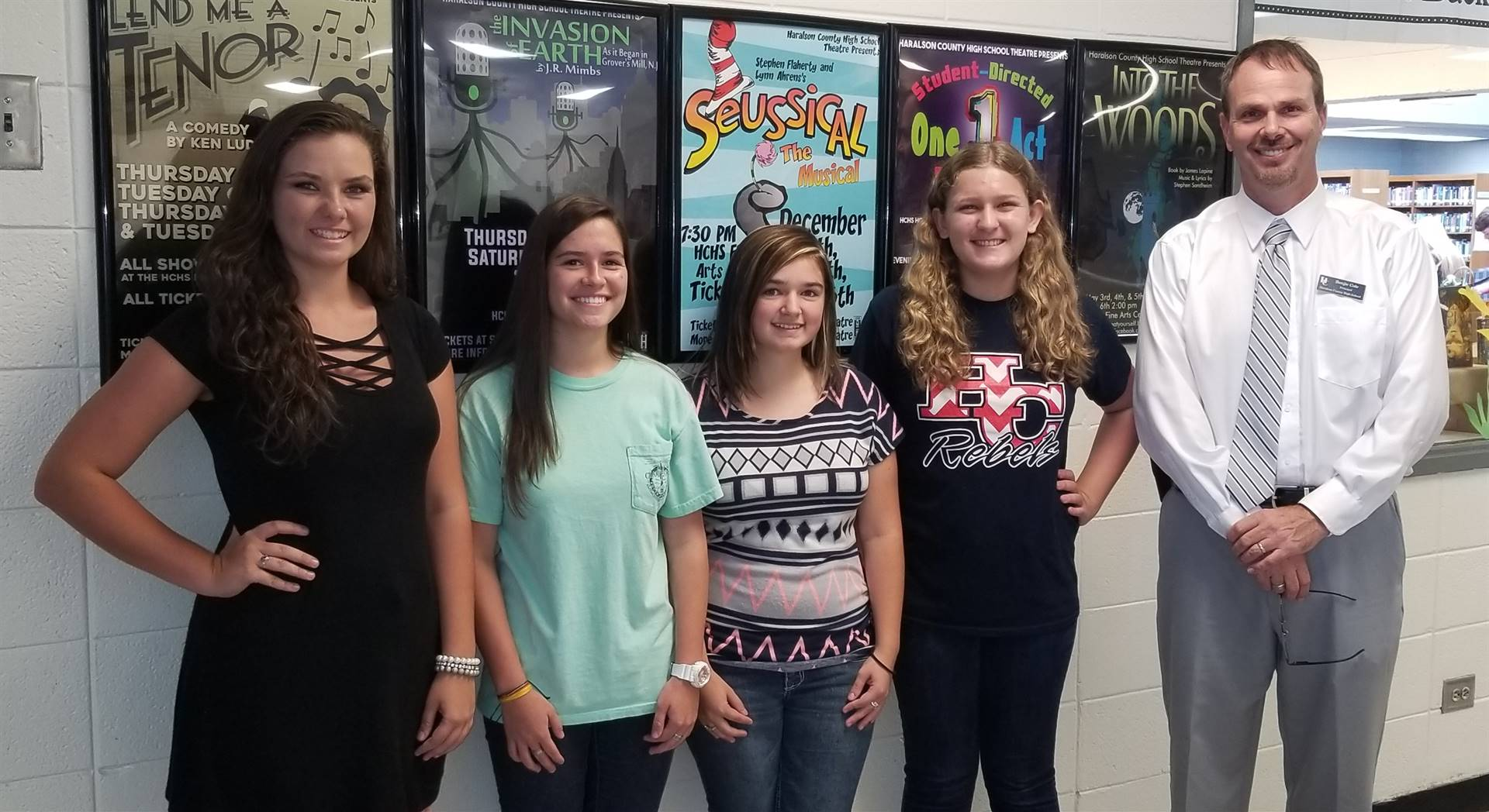 August 2017 Students of the Month