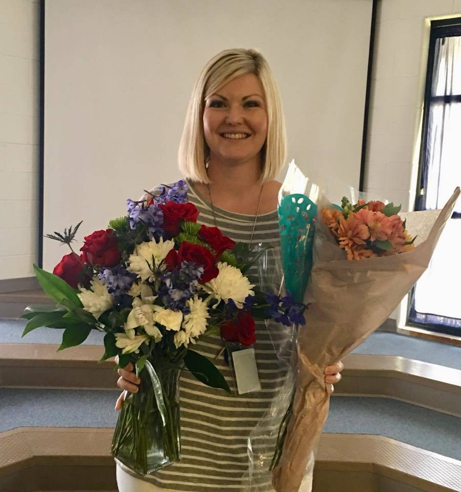 Teacher of the Year: Mrs. Westmoreland