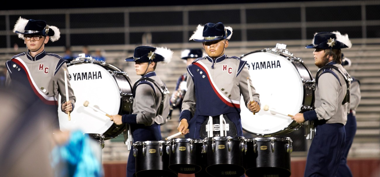 2019 Drum Section