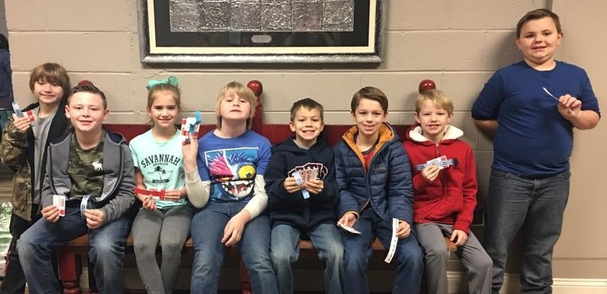 WHES students of the month for January
