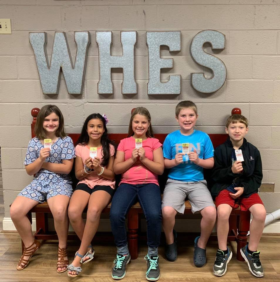 4th Grade September Students of the Month
