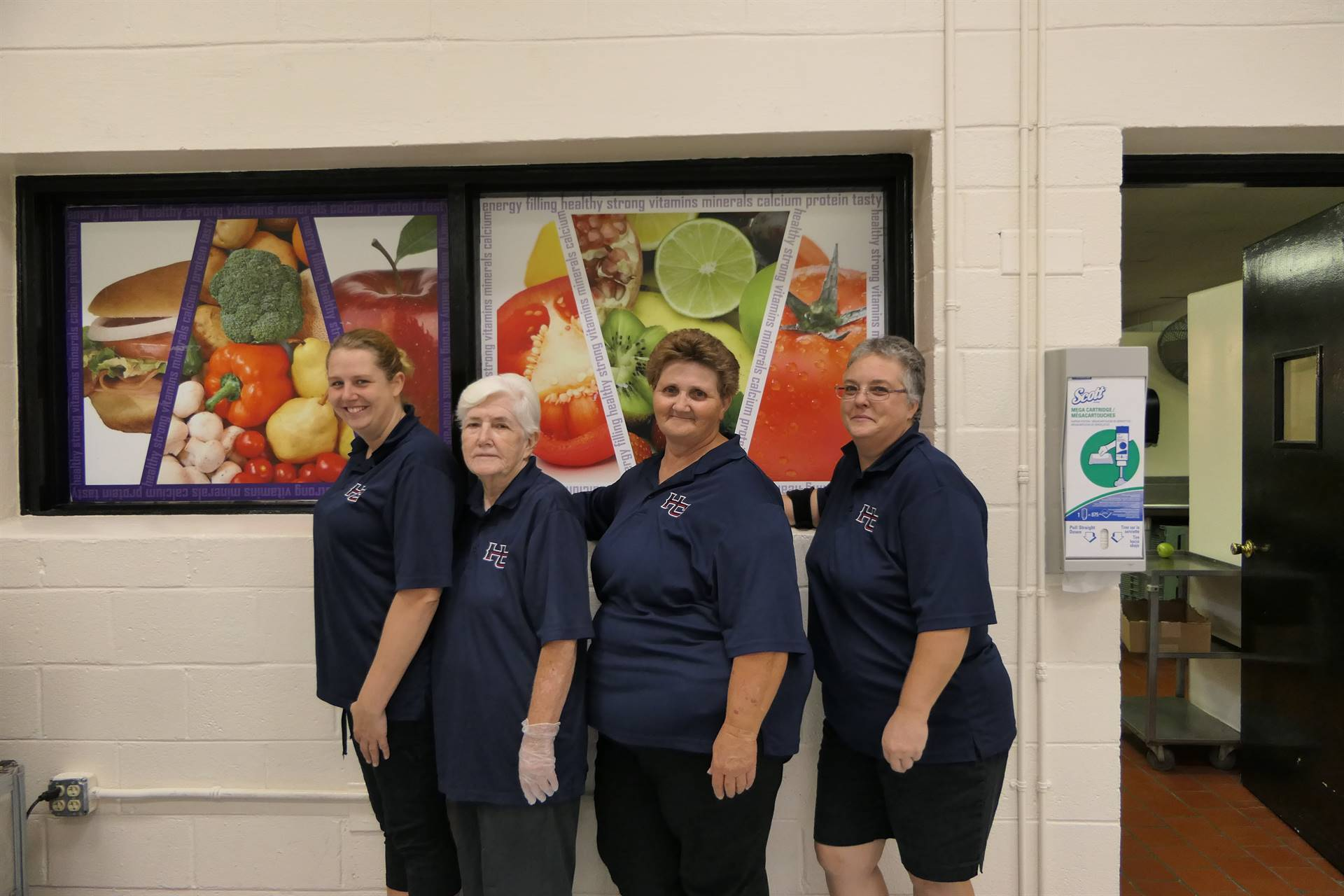 WHES Cafeteria Staff
