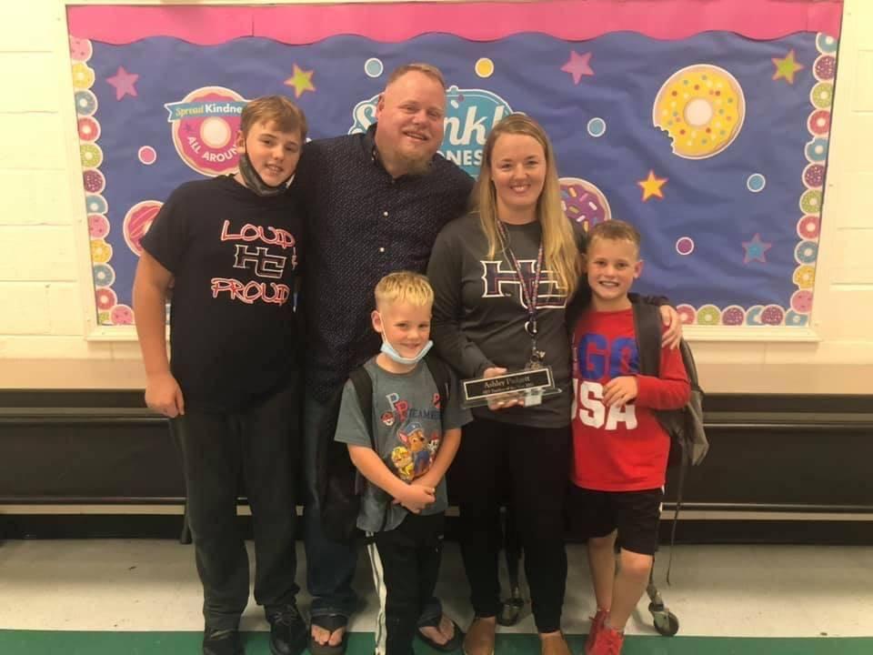 BES 2021-2022 Teacher of the Year- Ashley Padgett